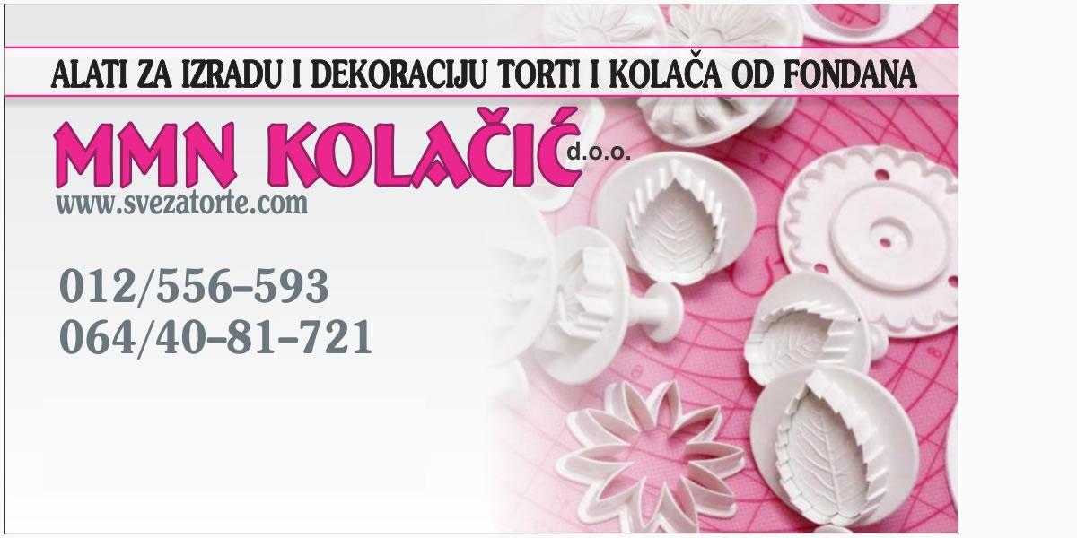MMN Kolačić doo Sve za torte cover