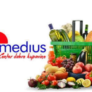Medius doo Supermarketi logo