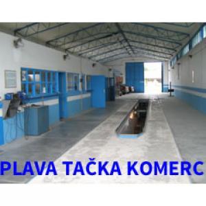 Plava Tačka Komerc doo logo