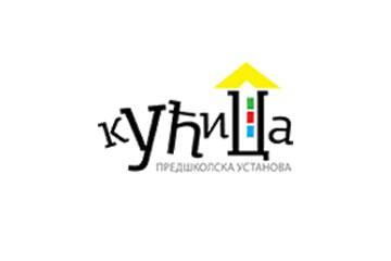 Predškolska ustanova vrtić Kućica logo