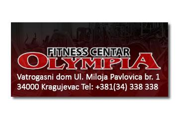 Olympia fitness shop logo