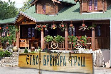 Etno brvnara Groš logo