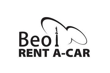 Beo rent a car logo