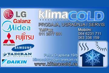 Klima Cold Beograd