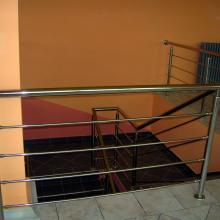 Inox ograda za stepenište
