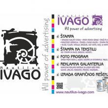 Nautilus Ivago Digitalna štampa, reklamni materijal