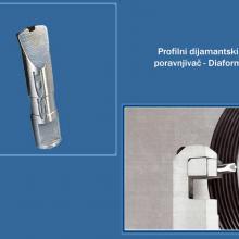 Dijamant S Temerin - Profilni dijamantski poravnjivač Diaform